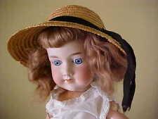 """22"""" 390 24-C/1 A 7 M Armand Marseilles bisque antique doll gorgeous face"""
