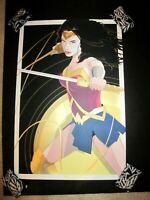 Superwoman Limited Edition Print Poster Diana Craig Drake Mondo artist x/325