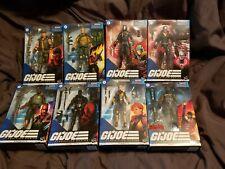 HASBRO G.I. JOE CLASSIFIED LOT 8  Destro COBRA COMMANDER GUNG HO+ SEALED NEW!!