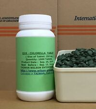 Chlorella + Co Q10:  (2 in 1) tablet: 100 Pure  Must See & Buy!  Good to Heart!
