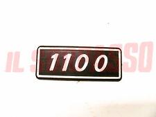 SCRITTA SIGLA PARAFANGO POSTERIORE FIAT 128 BERLINA 1100 IN PLASTICA ORIGINALE