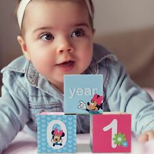 Disney Minnie Mouse Milestone Photo Sharing Age Blocks, Baby Girls, Age  0 24M