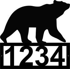Bear Address Sign - Home Decor - Lake House Sign - Cabin Sign