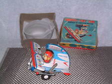 VINTAGE, ALPS CRAGSTAN, FRICTION, DAREDEVIL-STUNT PLANE. WORKING W/ORIGINAL BOX!