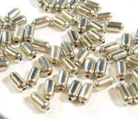 250 Metallperlen Zwischenteile Altsilber Röhre 4mm Spacer Schmuck Basteln M165