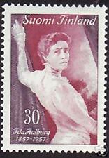 Ida Aalberg Actress Finland 1957 MNH