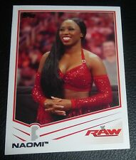 Naomi WWE 2013 Topps Trading Card #27 Pro Wrestling Total Divas The Funkadactyls