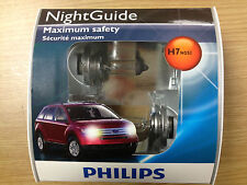 Philips H7 NightGuide Headlight Bulb 12972NGS2, Pack of 2 - Buy 5 Get 1 Free