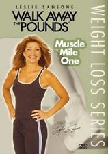 Leslie Sansone - Walk Away the Pounds: Muscle Mile One (DVD, 2006) - NEW!!