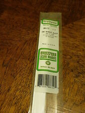 """Evergreen Styrene #8612 HO Styrene Strip - 14"""" Long pkg(10) --  6 x 12"""""""