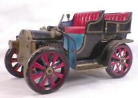 Vintage Tin Toy Open Touring Car Modern Toys Masudaya Brand Japan Works As Is