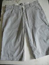 § collection enfant bermuda garcon 14 ans gris et blanc TUC TUC