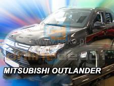 Wind Deflectors MITSUBISHI OUTLANDER III 5-doors 2012-onwards 4-pc HEKO Tinted