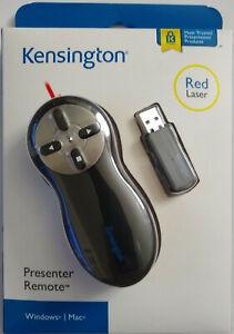 Kensington Wireless Presenter with Red Laser Pointer (K33374USB)