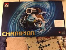Pokemon League Cup Blastoise CHAMPION Play Mat FREE SHIPPING!!!