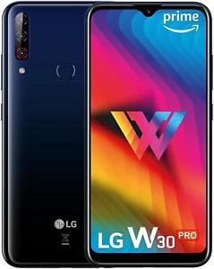 LG W30 Pro Blue 4GB RAM 64GB Dual Sim Triple Camera 6.21 inch Googleplay Phone