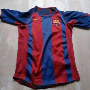 Barcelona Jersey Home football shirt 2004 - 2005 Nike Camiseta Mens Size S