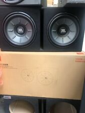 Stage 1220B JBL subwoofer enclosure New 1000 Watts each