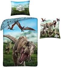 Jurassic World Bettwäsche Kuschelkissen Dino Wendebettwäsche Zierkissen T-Rex