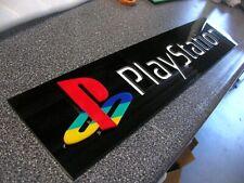 Playstation 3D ART sign gaming game KIDS new console X Box  sega PS Nintendo