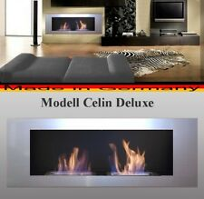 BIOETHANOL CHEMINEE MODELL CELIN SILVER CHAUFFAGE Fireplace peis kominek Ethanol