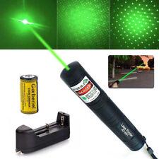 10Miles 532nm 1Mw Green Beam Light Presentation Laser Pointer Pen & Battery Usa