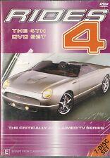 Rides - Complete Season 4 (7 Disc Box Set) Custom Car Shop, 780 mins .. New