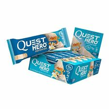 Quest Nutrition Quest Hero Protein Bar Vanilla Caramel 10 bars - Best By 6/3/18