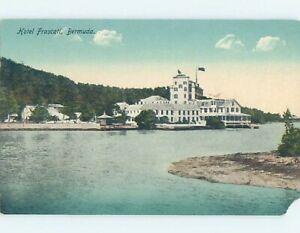 Pre-Chrome FRASCATI HOTEL Flatts Village - Hamilton Bermuda F6618