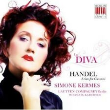 SIMONE/LAUTTEN COMPAGNEY KERMES - LA DIVA-ARIAS FOR CUZZONI  CD NEW+