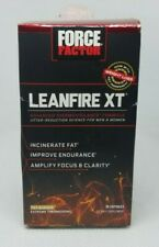 New Force Factor Lean Fire XT 30 Capsules - Incinerate Fat Exp 12/20 + FAST SHIP
