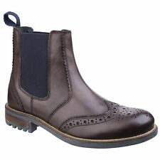 Cotswold Cirencester Brown Mens Boots Full Grain Leather