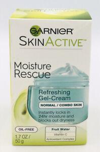 Garnier SkinActive Moisture Rescue Refreshing Gel Cream Normal/Combo Skin-1.7oz.