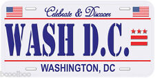 Washington DC USA Novelty Car License Plate