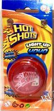 Hot Shots Light Up Yo Yo Trick Mechanism yoyo Speed Auto Return Yo-Yos Assorted