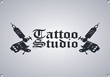 TATTOO STUDIO,RETRO,ENAMEL, STYLE METAL SIGN,679