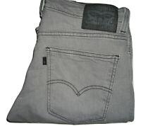 Herren Levi's 511 Line 8 Grau (0028) Enganliegend Stretch Jeans W32 L32