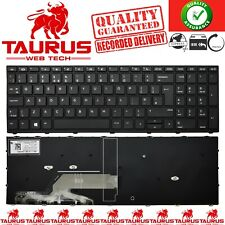 More details for hp probook new series g5 450 455 470 black frame rep laptop keyboard uk free p&p