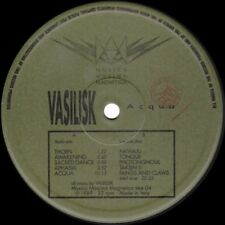 Raro LP Vinile Originale 1989 -  Vasilisk – Acqua (eee 004)