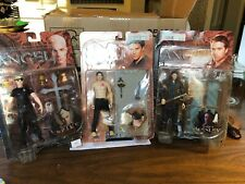 Buffy & Angel Action Figures, Spike, Wesley, Angel! Nib Graduation, Season 4!