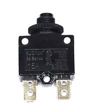 4pc 15A Circuit Breaker 88 series 125/250VAC 50/60Hz UL TUV VDE  KUOYUH Taiwan