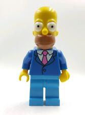 Lego Mini Figure Minifigure Simpsons Homer Tie & Jacket  Series 2 SIM028