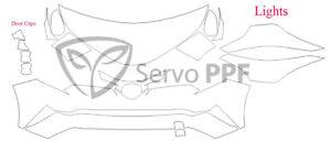 PreCut Suntek PPF-Ultra Clear Bra Film for 18+Toyota C-HR, CHR, C HR