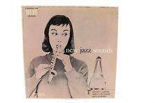 New Jazz Sounds 1958 LP Benny Carter Dizzy Gillespie Bill Harris Orig Record VG+