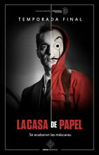 "015 La casa de papel -  Action Crime Spain TV Show 14""x21"" Poster"