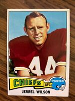 1975  Topps #462 Jerrel Wilson  Kansas City Chiefs  ExMt