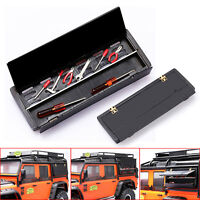 Tool Box + Metal Division Board Upgrade Parts for Traxxas TRX4 D90 D110 RC Car