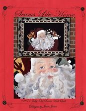 JOLLY OLD SANTA  WALL QUILT QUILTING APPLIQUE PATTERN, From Seams Like Home NEW