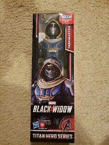 Marvel Avengers Black Widow Titan Hero Series Blast Gear Taskmaster Action