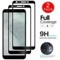 For Google Pixel 3a 3 2 XL Caseswill FULL COVER Tempered Glass Screen Protector